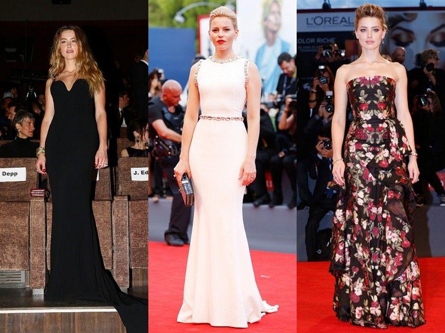 Amber Heart in Stella McCartney e Mc Queen e Elizabeth Banks in Dolce e Gabbana