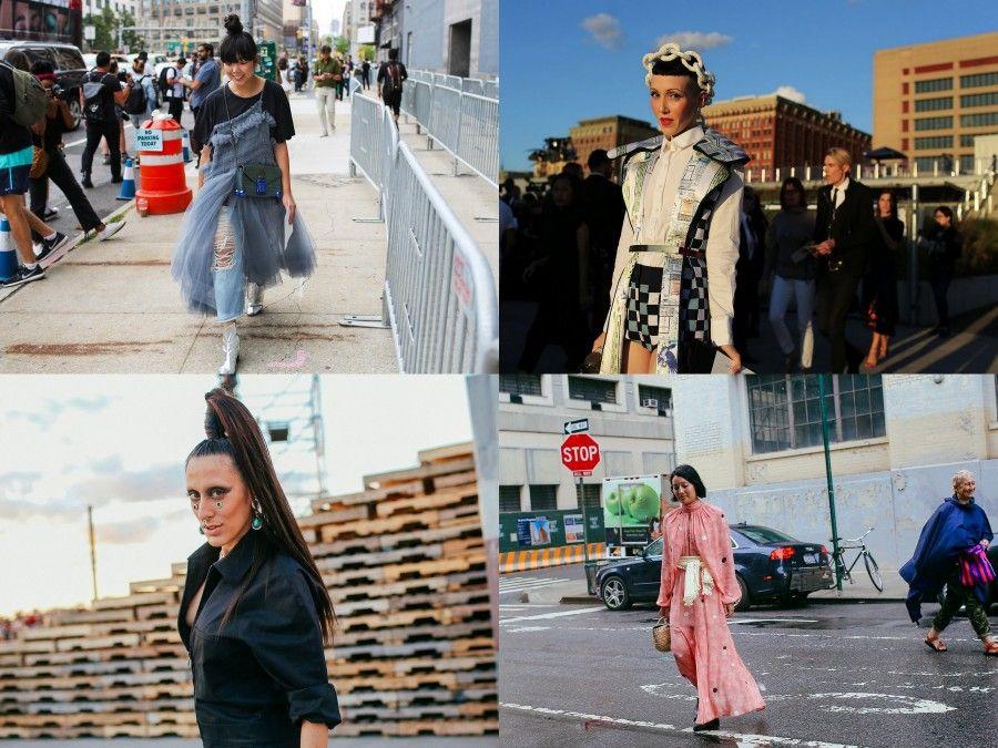 Street Style NYFW da style.com e HarpersBaazar.com