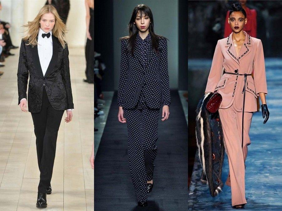 Tailleur di Ralph Lauren, Bottega Veneta e Marc Jacobs