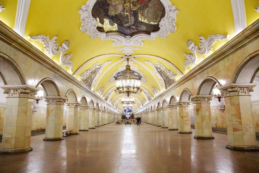Komsomolskaya Mosca