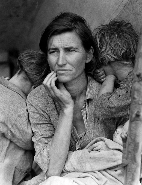 Madre migrante di Dorothea Lange
