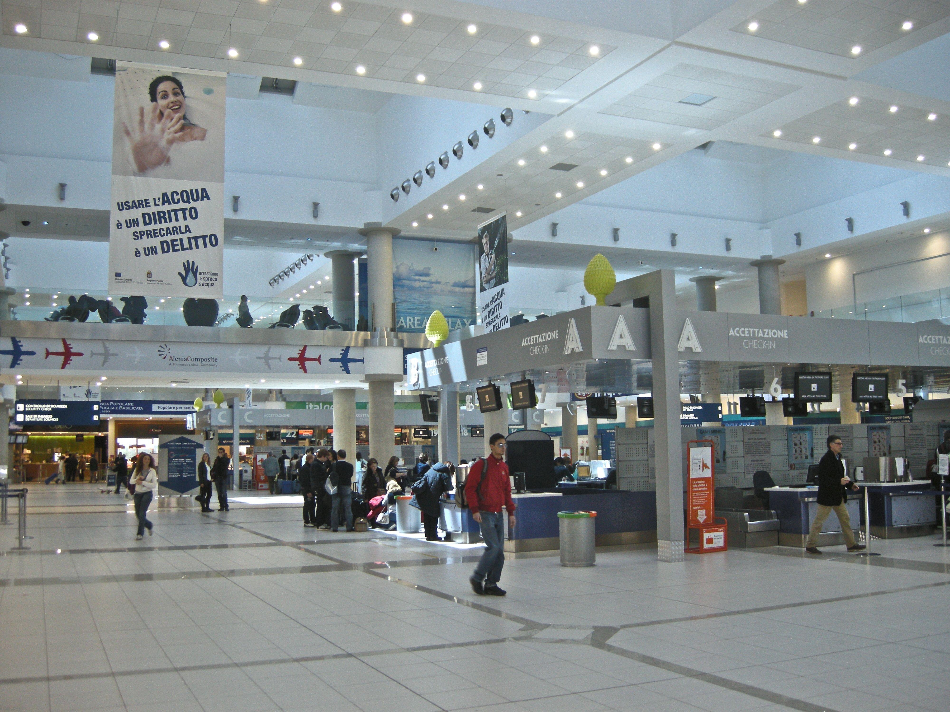 I migliori aeroporti in Italia