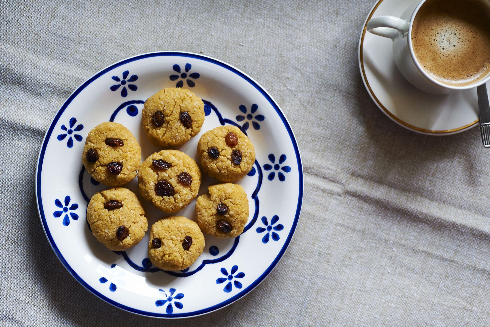 La ricetta dei biscotti di cous cous