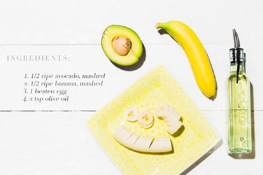 chriselle_lim_7_ways_to_use_an_egg_banana_avocado_hair_mask_ingredients1