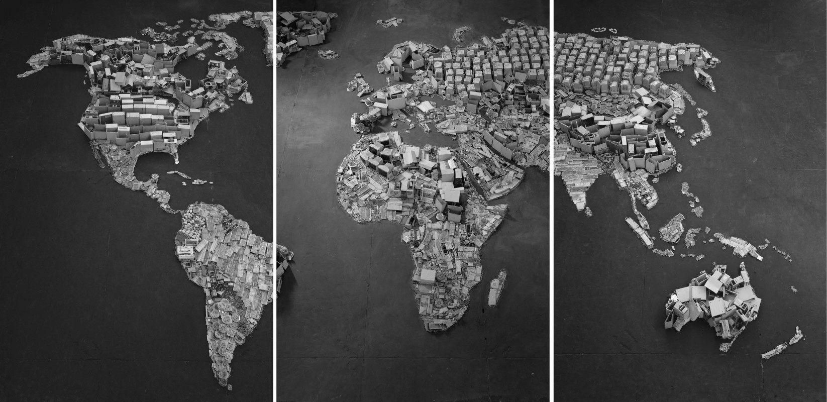 """Il mondo """"riciclabile"""" di Vik Muniz"""