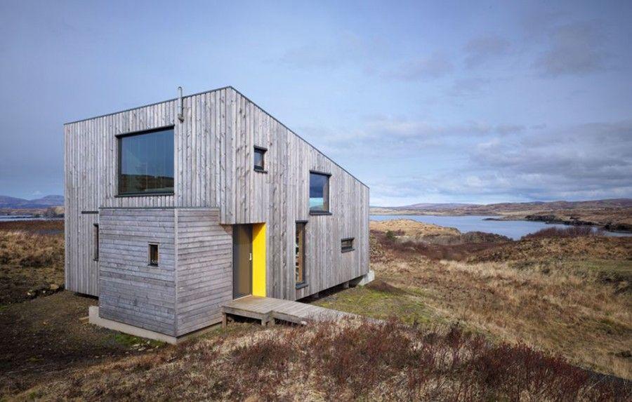 3 case nascoste nella natura selvaggia bigodino for Design e rimodellamento della casa sud occidentale