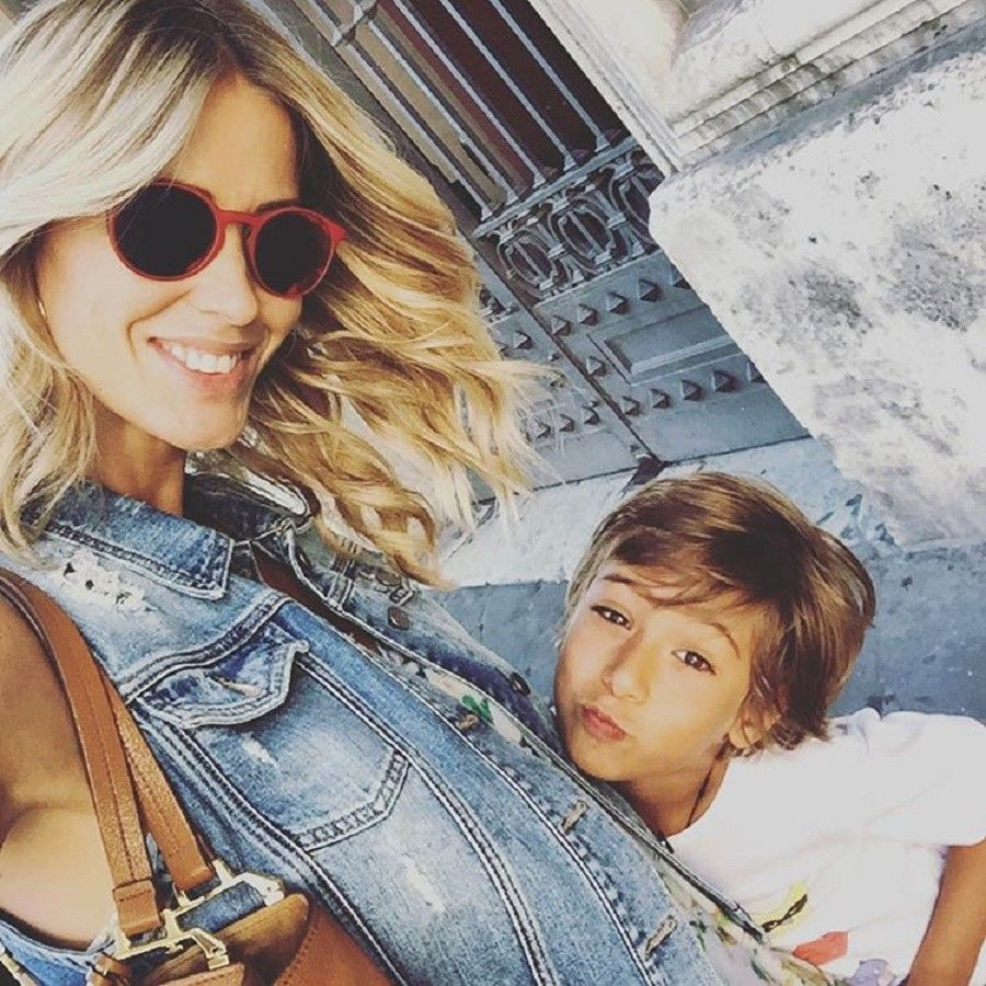 elena-santarelli-mamma
