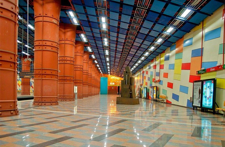 Metro Olaias Lisbona