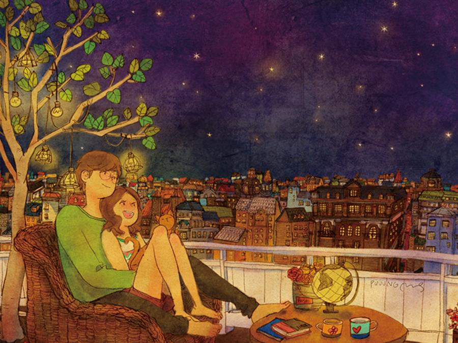 La Visione Dell Amore Attraverso Semplici Illustrazioni Bigodino