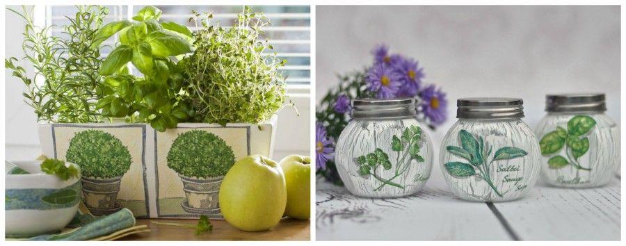 piante aromaticheCollage
