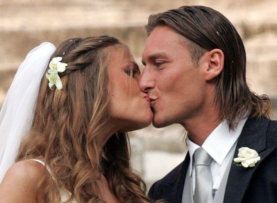 ...il sognante matrimonio dei Totti...