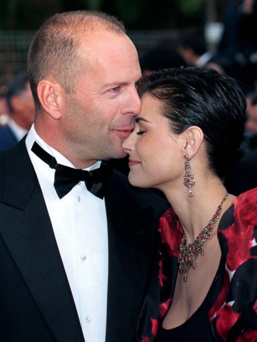 Bruce e Demi ai tempi del loro amore