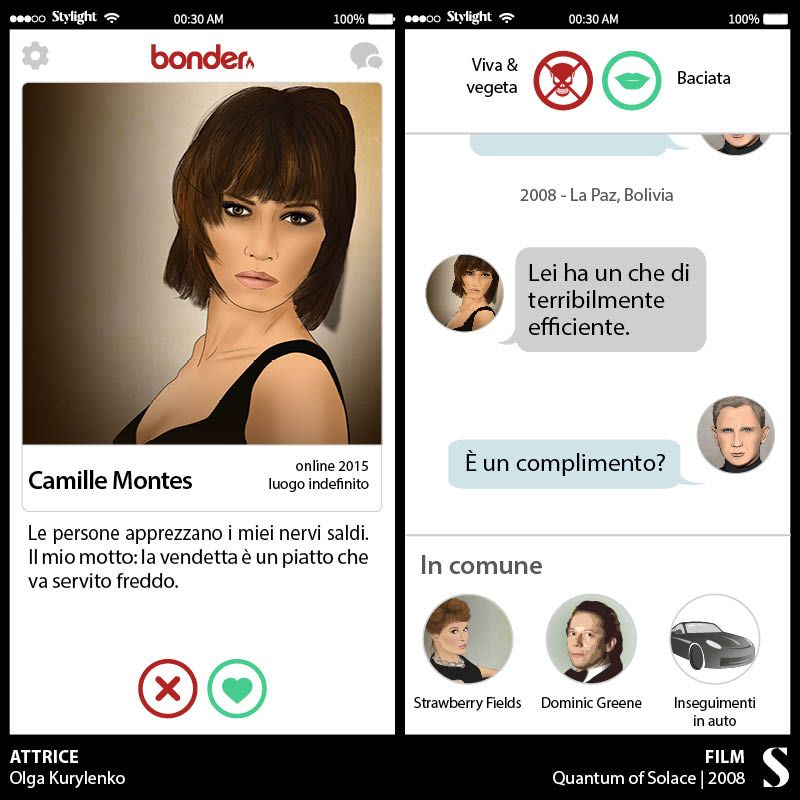 5. James Bond - Camille Montes - Stylight