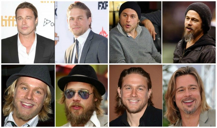Charile Hunnam collage