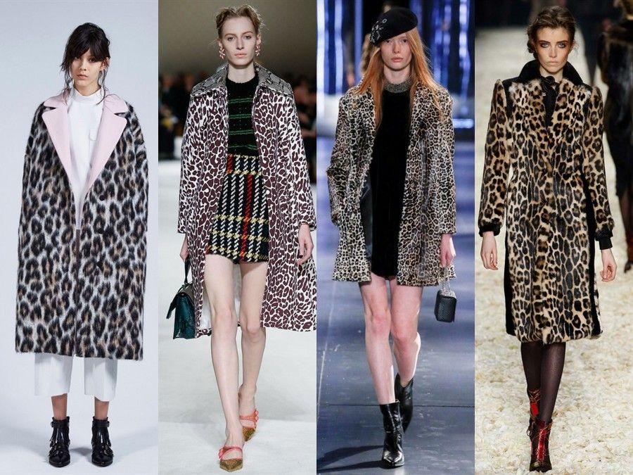 Cappotti maculati di MSGM, Miu Miu, Saint Laurent e Tom Ford