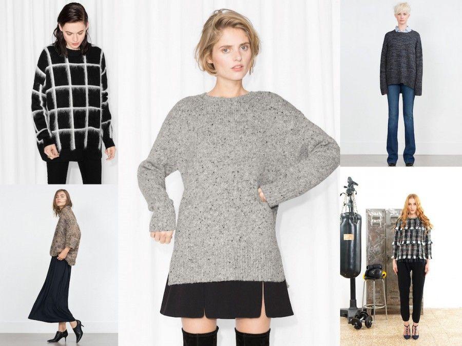 Knitwear proposti da Zara, &OtherStories, e SHIRTAPORTER