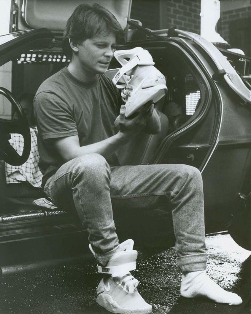 Dietro le quinte di Ritorno al futuro II con le Nike auto-allaccianti