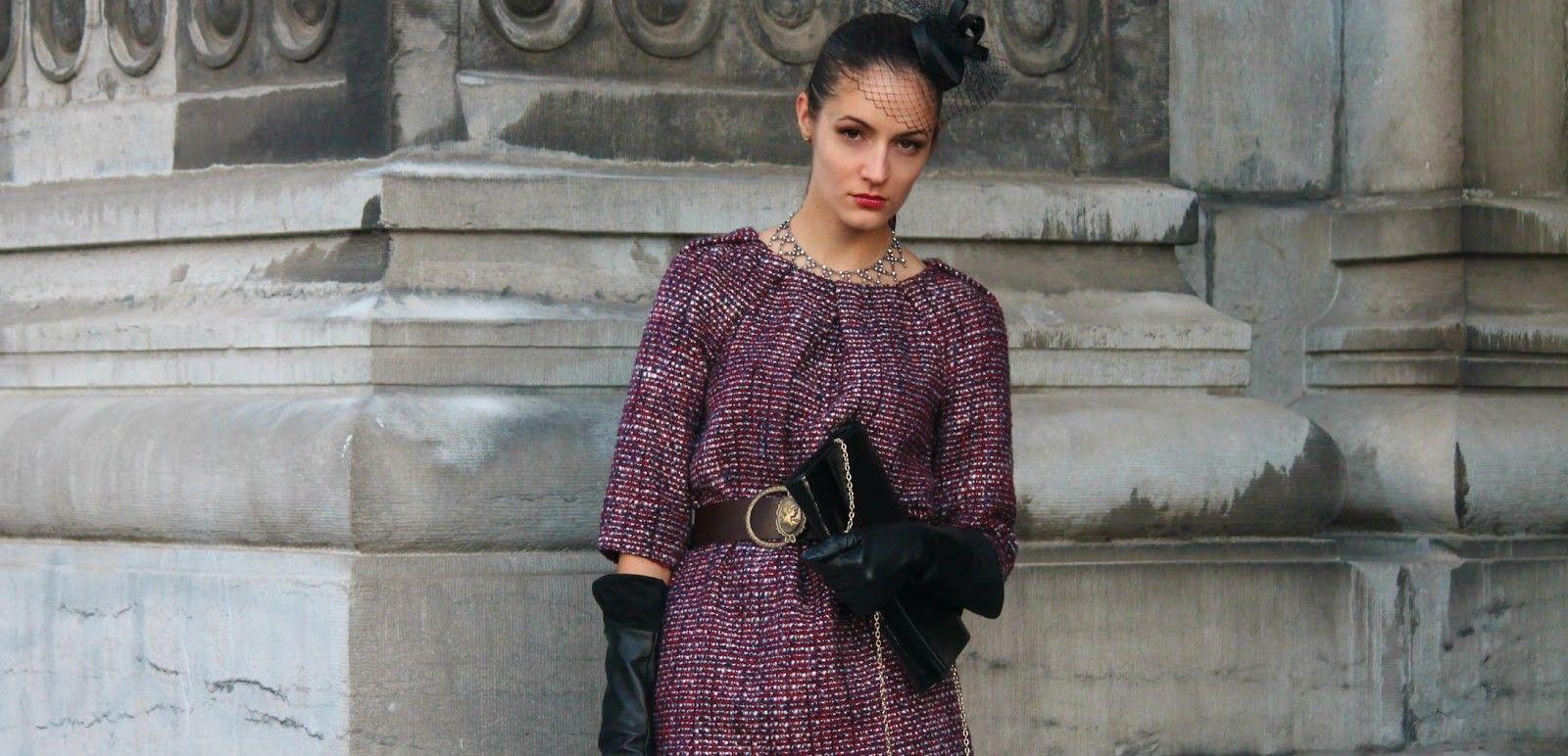 Come indossare la lana bouclè