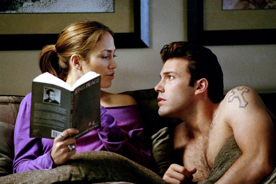 Jennifer Lopez e Ben Affleck in Gigli