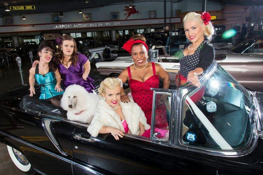 Le concorrenti di Piccole Donne L.A