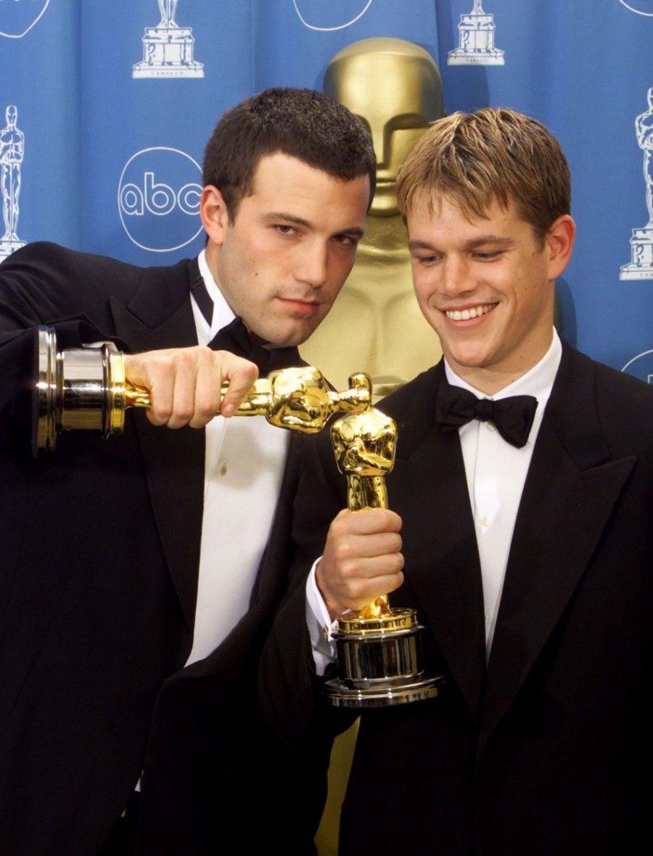 Matt Damon e Ben Affleck vincitori del premio Oscar