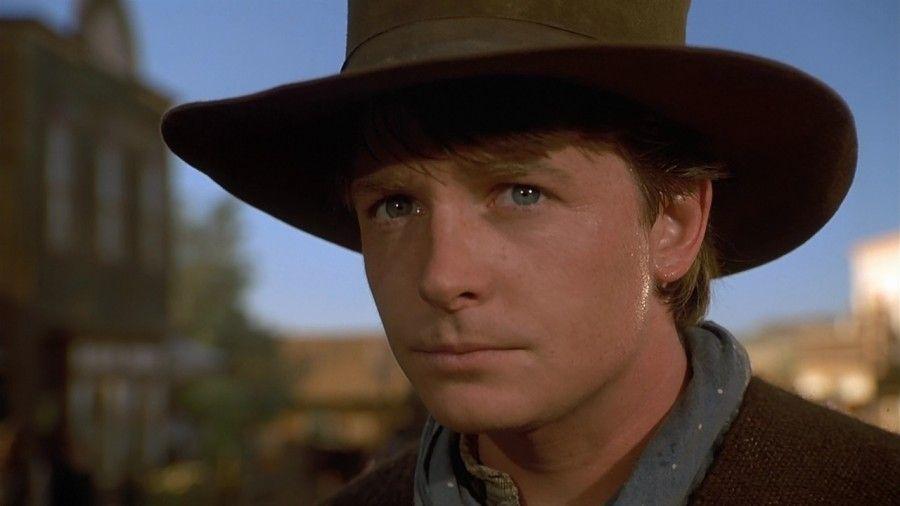 Michael J Fox in Ritorno al futuro III