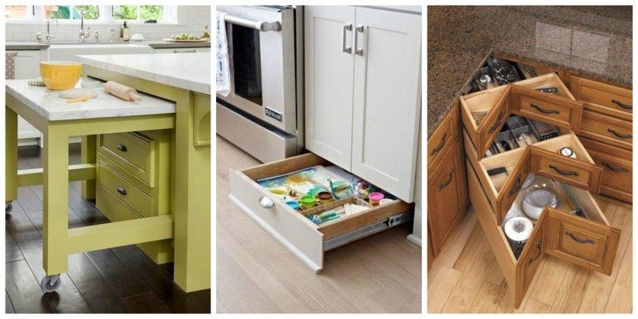 Soluzioni per cucine piccole cool soluzioni smart per for Mobili x cucine piccole