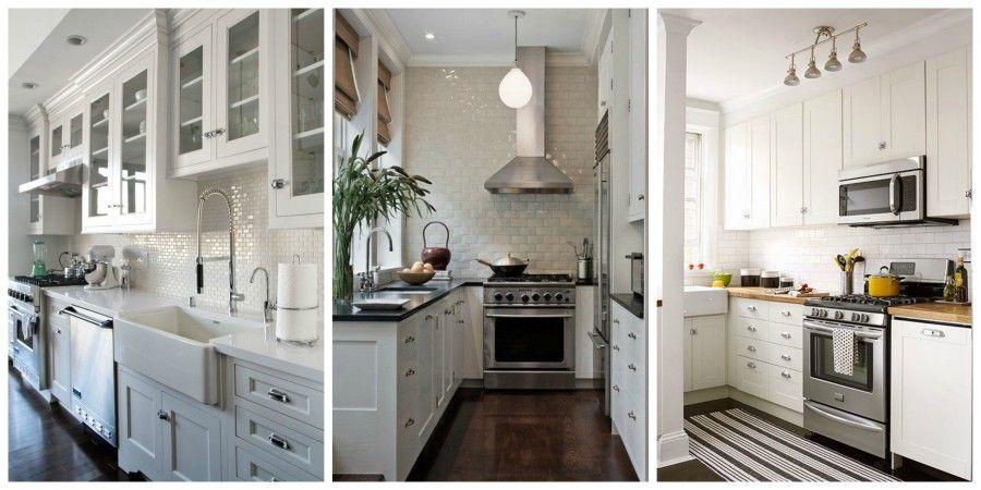 7 trucchi per rendere la tua piccola cucina molto più grande ...