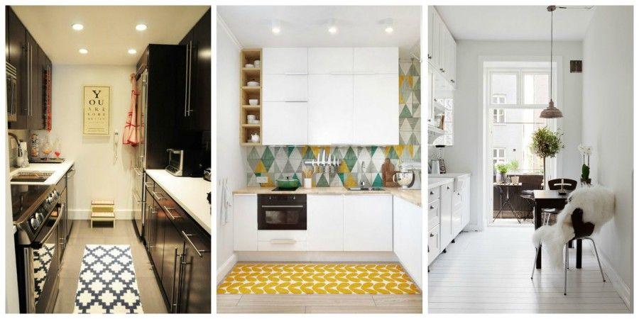 7 trucchi per rendere la tua piccola cucina molto più grande | Bigodino