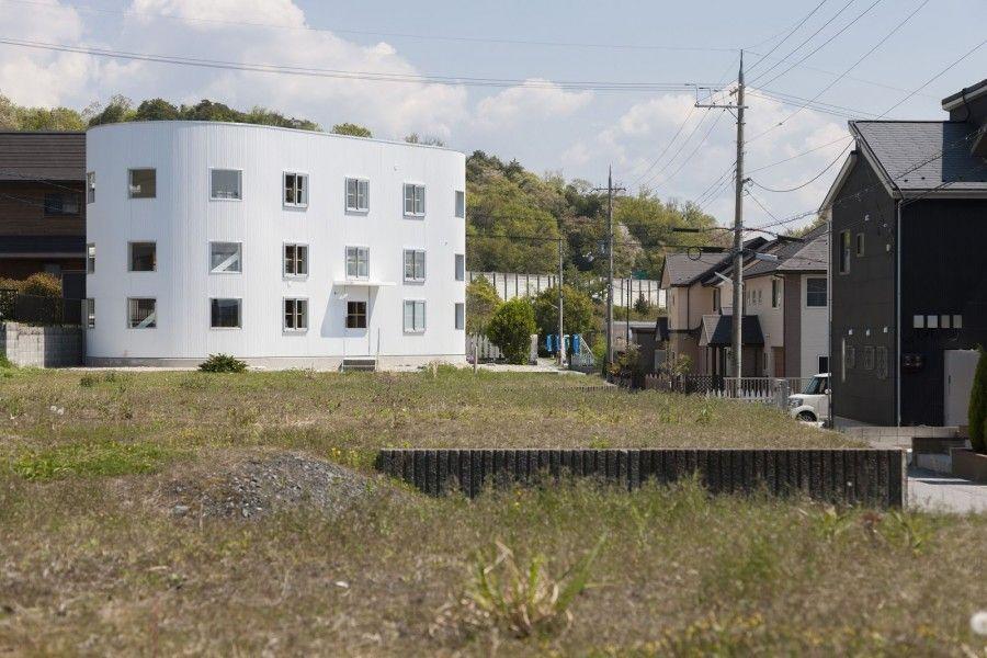 House in Hikone. Prefettura di Shiga