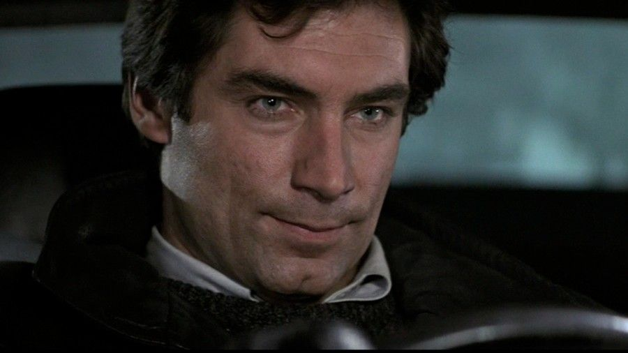 Timothy Dalton in Living Daylights