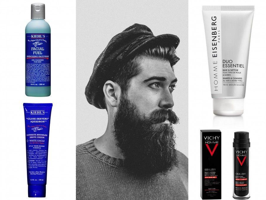 Essenziale Duo-in-Uno di EISENBERG -Facial Fuel Energizing Face Wash di Kiehl's - Idealizer Barba di 3 giorni e + di Vichy - Close Shavers di Kiehl's