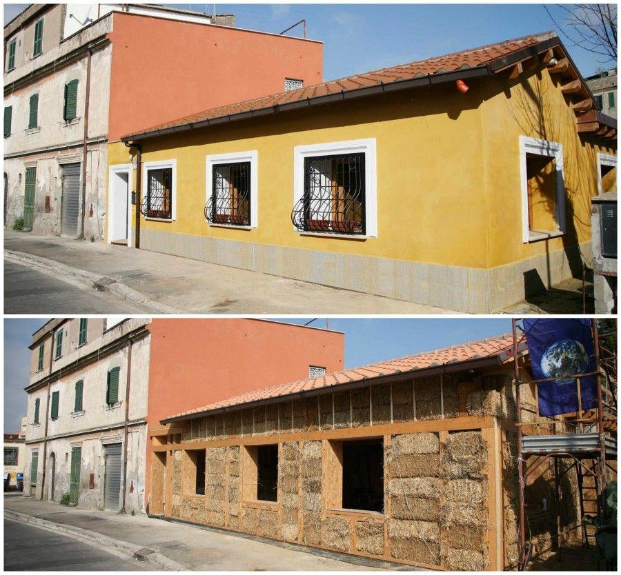 Bioarchitettura per una casa eco sostenibile bigodino for Casa design roma