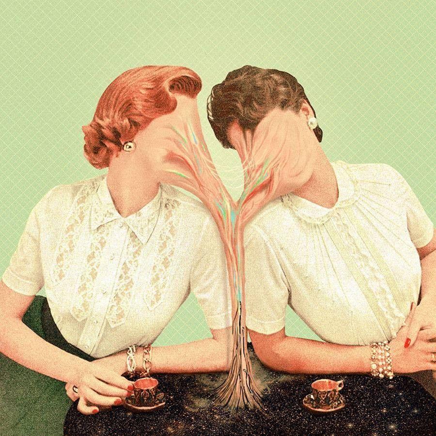 Two faces. Pierre Schmidt