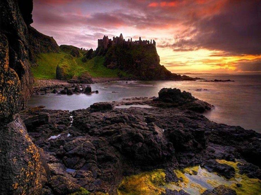 halloween-Dunluce Castle