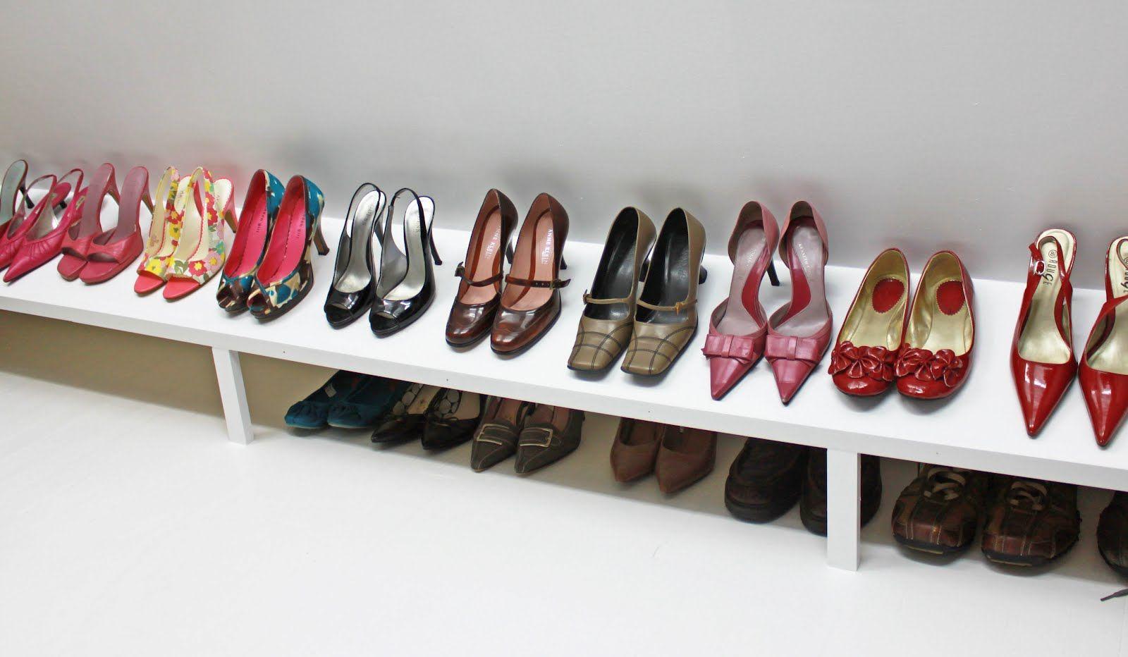 DIY: come realizzare una scarpiera