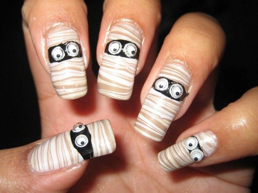 nail-art-halloween08mummie
