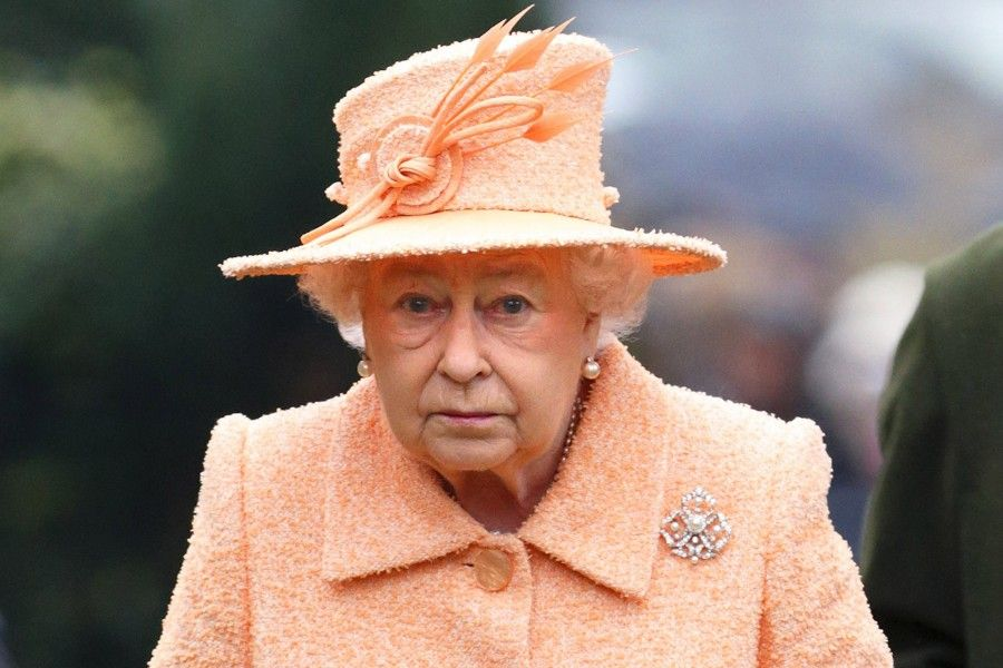 NORWICH, UNITED KINGDOM - JANUARY 19: (EMBARGOED FOR PUBLICATION IN UK NEWSPAPERS UNTIL 48 HOURS AFTER CREATE DATE AND TIME) Queen Elizabeth II attends Sunday service at St Peter's church Wolferton, near Sandringham House on January 19, 2014 in Norwich, England. (Photo by Max Mumby/Indigo/Getty Images)