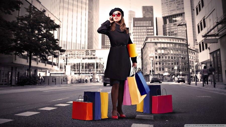 ...da grandi si fa shopping come i grandi...