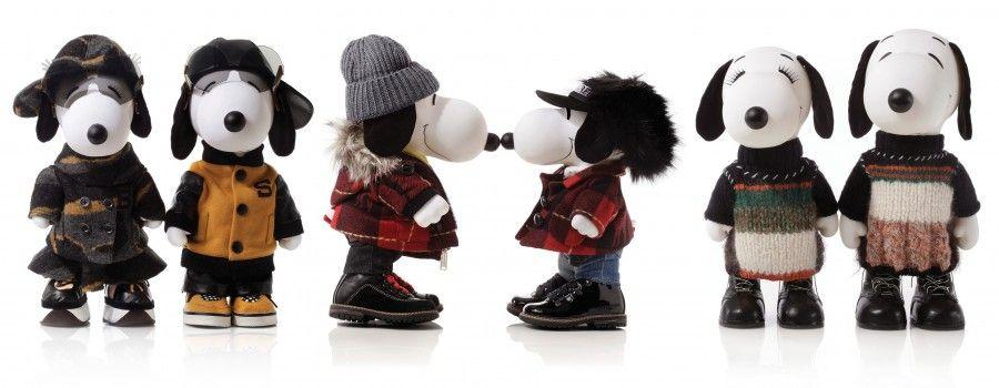 Snoopy et Belle Fashion