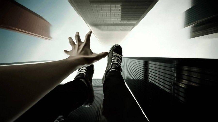 sognare-cadere
