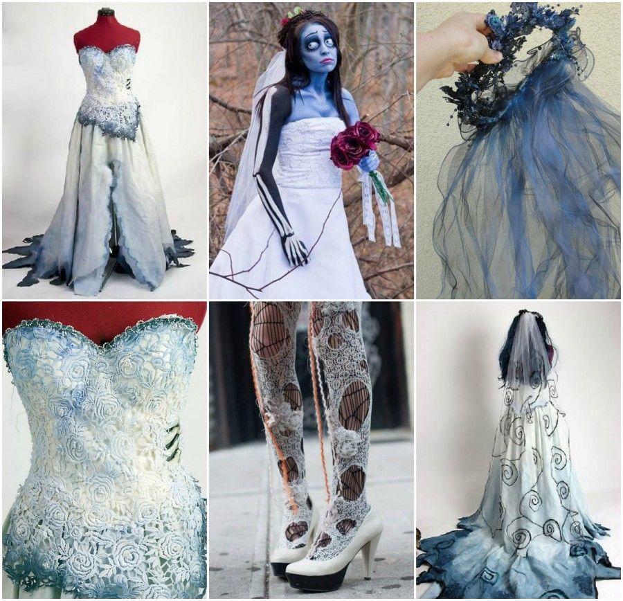 Un po' troppo colorato e a tema come abito da sposa?