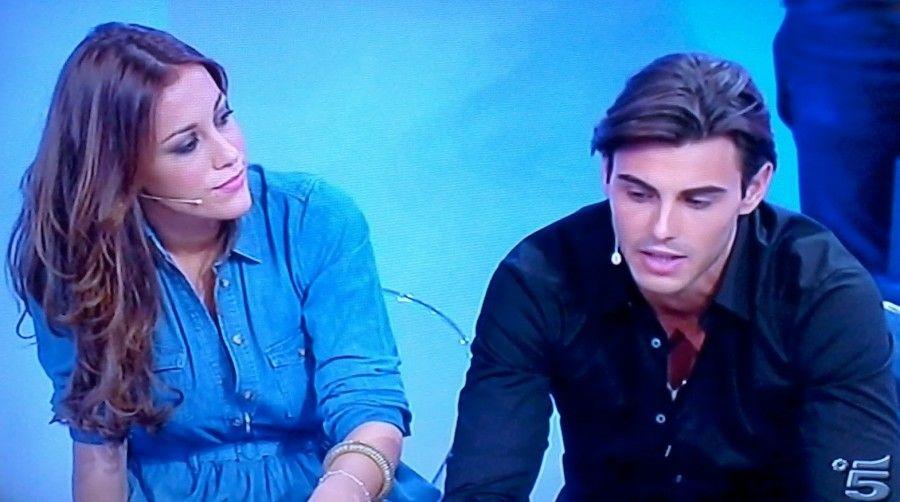 Teresanna e Francesco in studio
