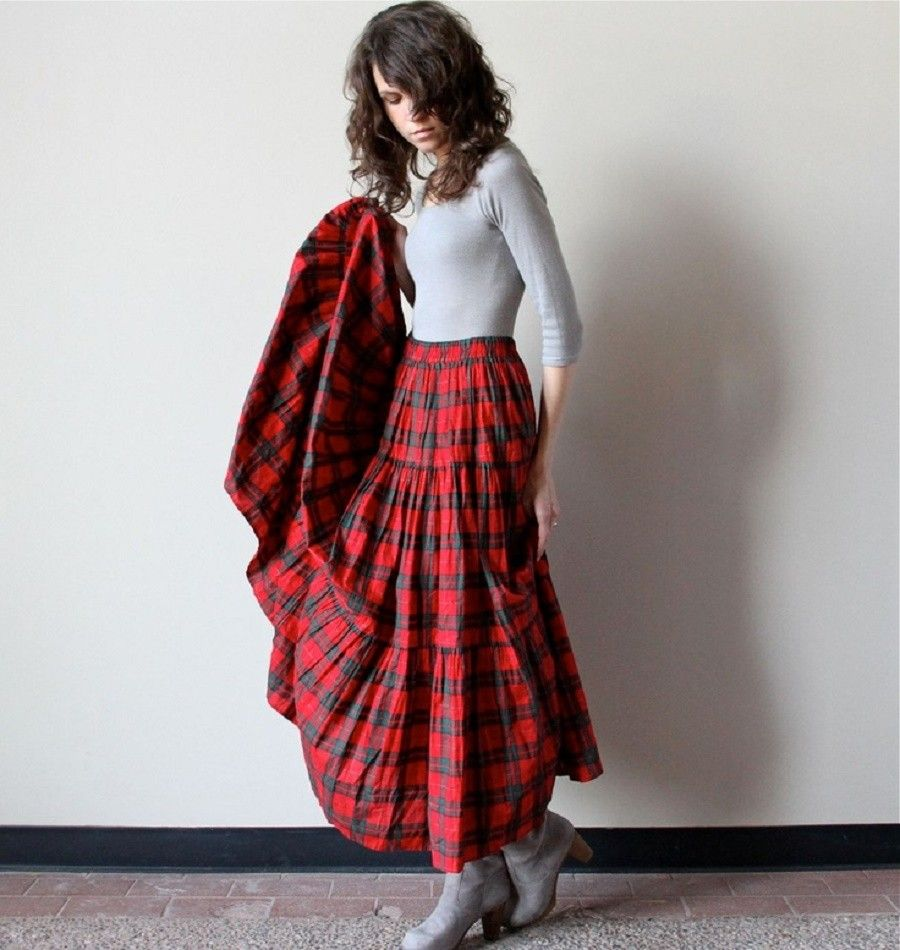 tessuto-plaid-scozzese-gonna