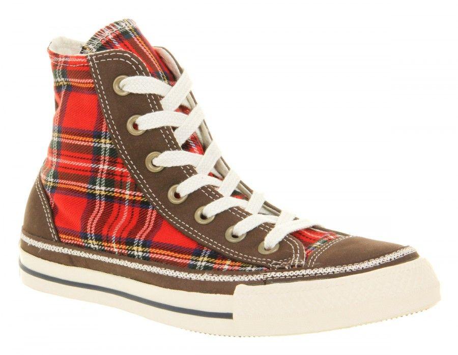 tessuto-plaid-scozzese-scarpe