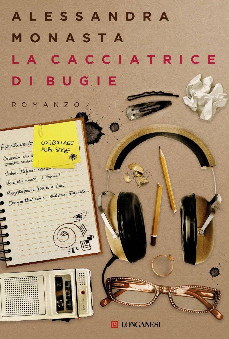 """Cover di """"La cacciatrice di Bugie"""" di Alessandra Monasta"""