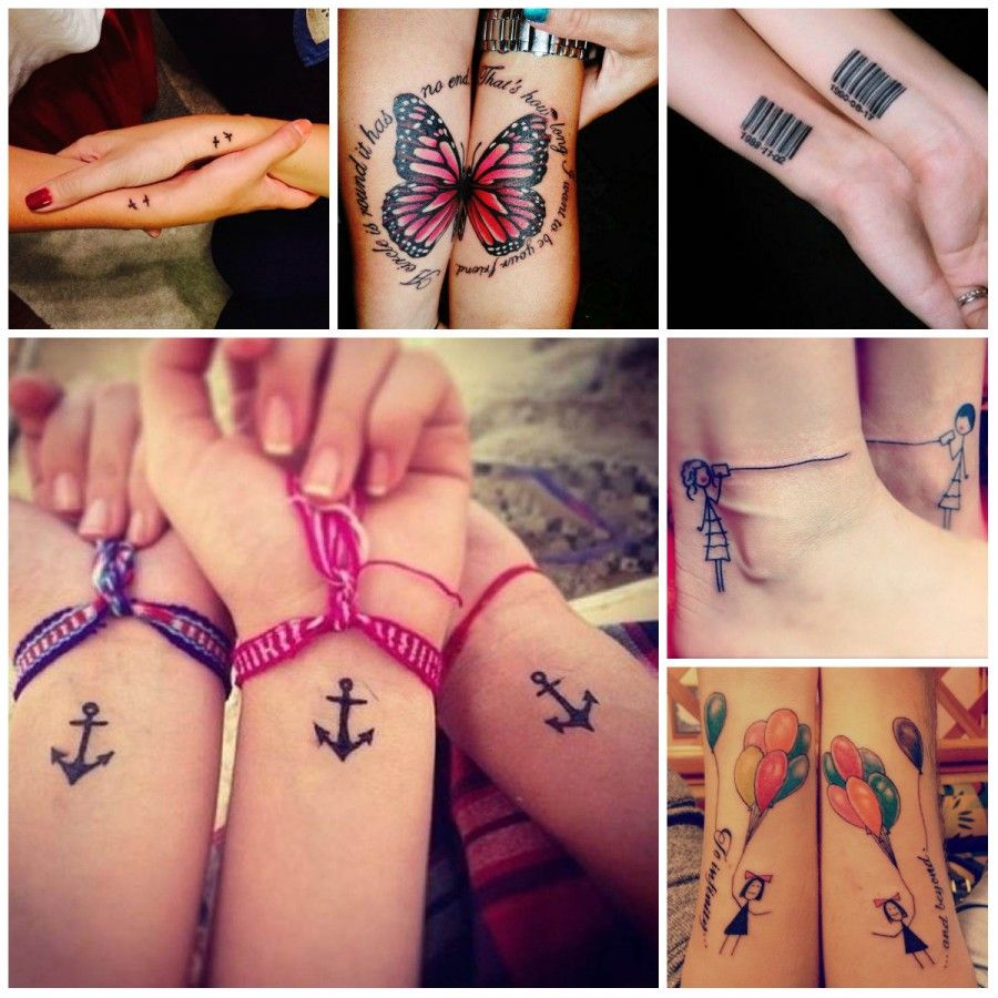 i tatuaggi perfetti per le best friends
