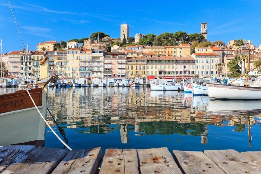 Il Castello di Cannes visto da Herve Fabre