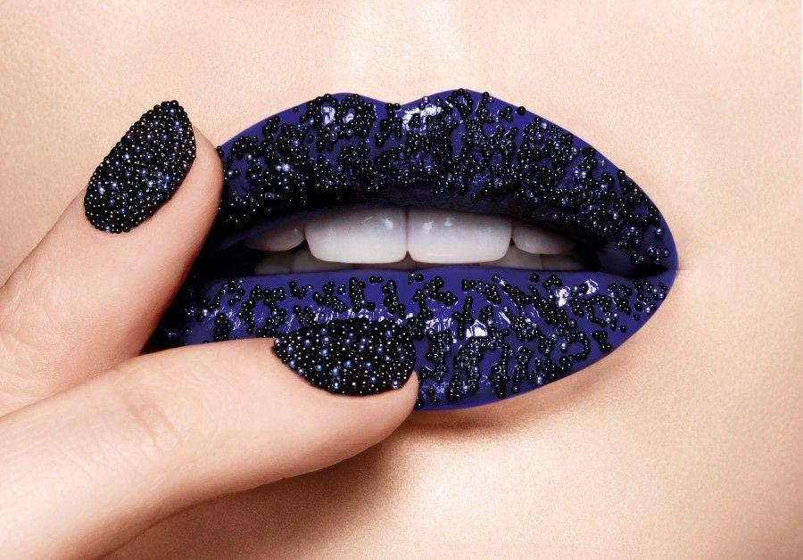 Ciaté+Caviar+Manicure+Dark+Blue