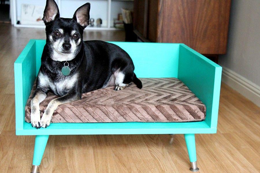 DIY-Midcentury-Pet-Bed